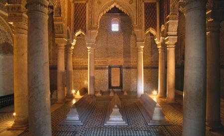 Interior de Tumbas Saadies.