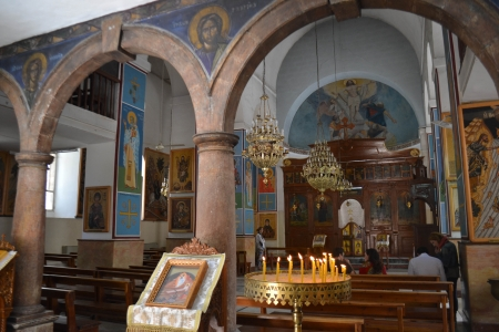 Greek Orthodox Basilica of Saint George in Madaba