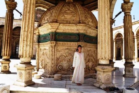 The Alabaster Mosque in Saladin Citadel