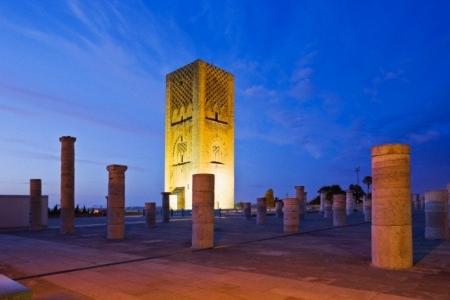 Torre di Hassan a Rabat