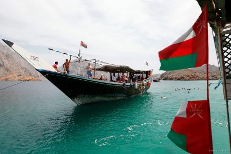 Boat at Muscat, Oman