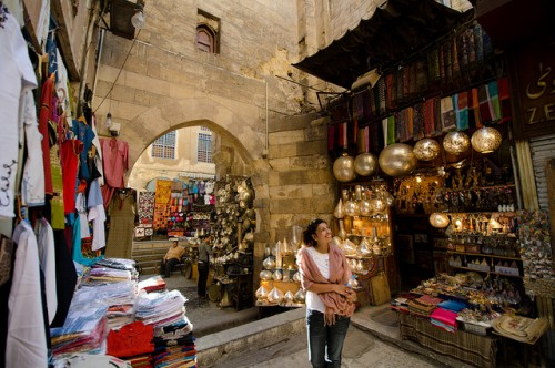 Shopping at Khan El Kahlili Bazaar, Old Cairo