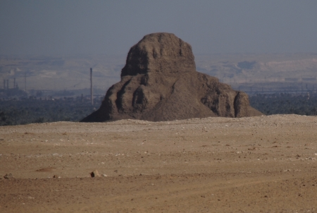 The Black Pyramid in Dahshure