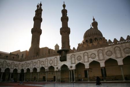 La Moschea di Al Husayn, Khan El Khalili