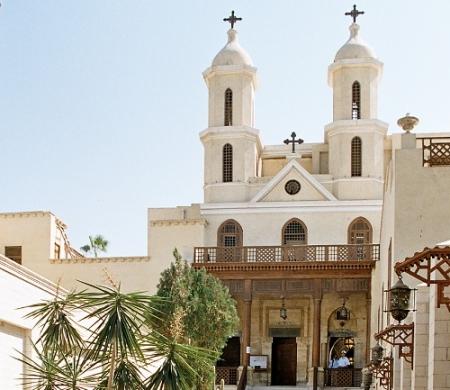 La iglesia Colgante.