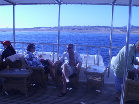 Sun Deck of Nautilus Cruise, Sharm
