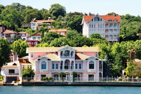 Villas View from the Water, Istanbul