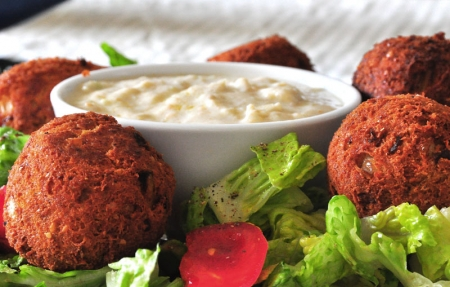 Egyptian Falafel