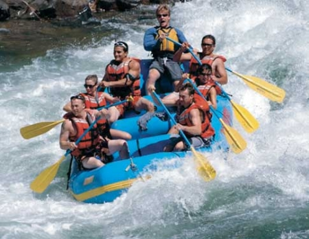 Rafting in Turkey