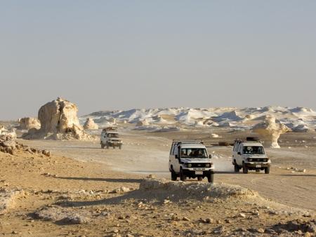 Inside the White Desert