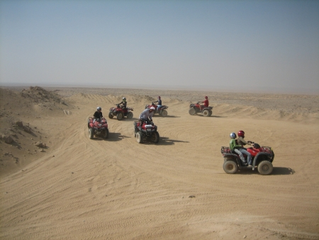 Sunset Quad Biking Safari in Luxor