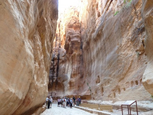 On The way to Petra