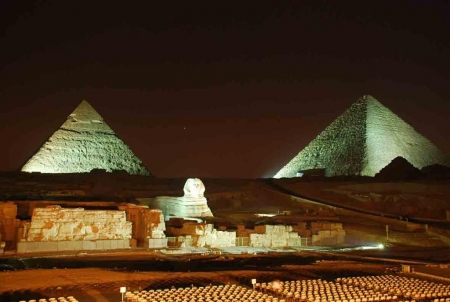 The Sound and Light Show of The Pyramids and Sphinx