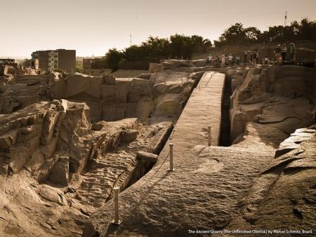 Obelisco Incompiuto ad Aswan