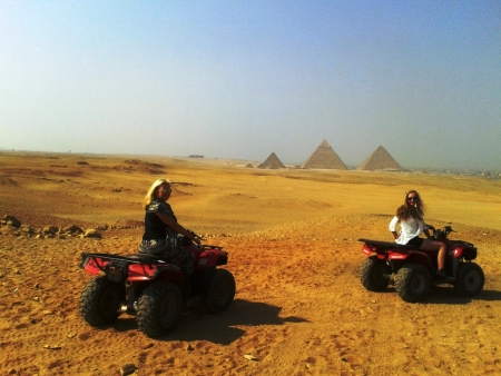 Quad Bike adventure around Giza Pyramids