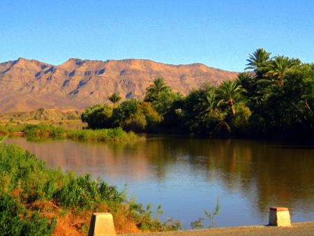 Valle della Draa del Marocco