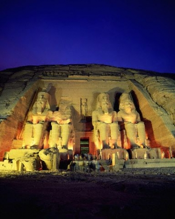 Templo de Abu Simbel Temple de Ramesses II