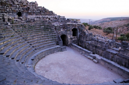 Ancient Theatre in Umm Qais