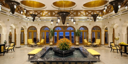 The Oberoi Sahl Hasheesh Lobby