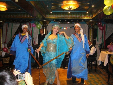 Belly Dance and Folkloric Show on Lunch Cruise