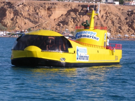 Submarine experience Hurghada