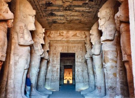 Abu Simbel Temple From Inside