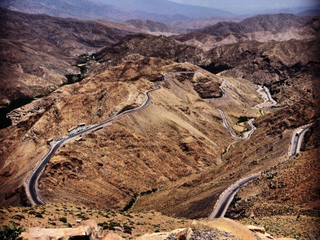 The Tizi N'Tichka, Ouarzazate