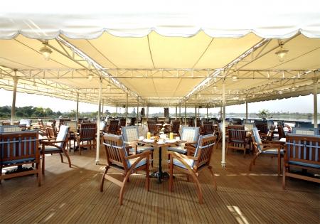 Sonesta St. George Nile Cruise Sundeck Resturant