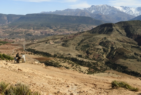 Asni Ouirgane Valley, Morocco