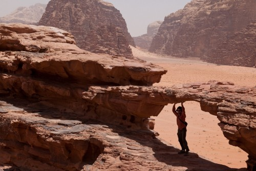 Wadi Rum, south of Jordan