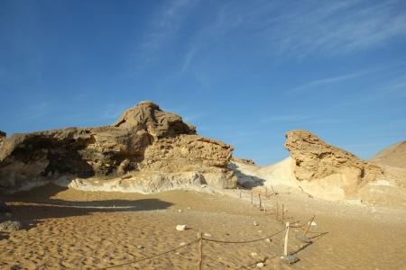 Montaña de Cristal, Desierto Blanco