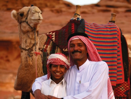 Local Bedouin People, Wadi Rum