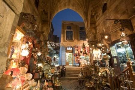 Khan El Khalili Bazaar, Old Cairo