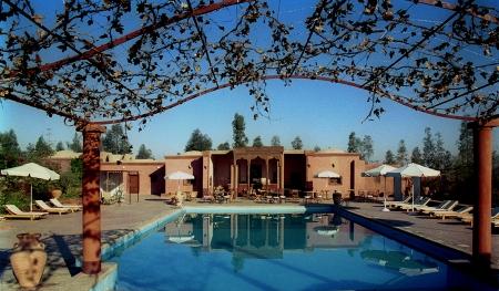 Swimming Pool, Hotel Al Moudira Luxor