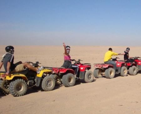 Quad Tour Safaga Deserto