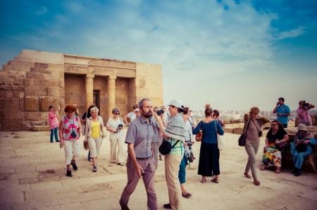 The Valley Temple at Giza Necropolis