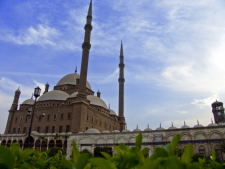 Alabaster Mosque in Cairo, Egypt