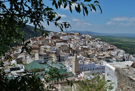 The Mausoleum of Moulay Idriss
