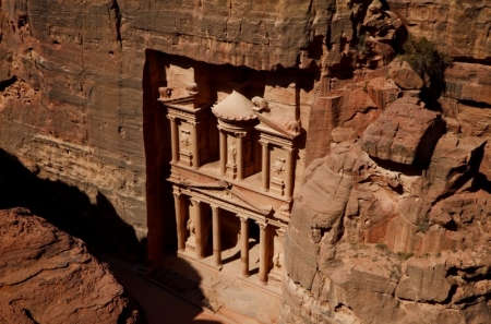The Treasury in Petra