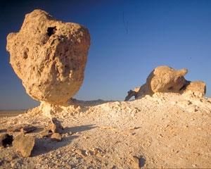 Rock Garden in Oman