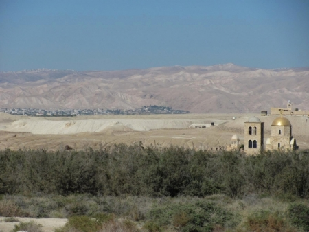 View of Jericho and Jerusalem from Bethany