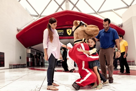 Tour To Ferrari Park at Yas Island from Dubai