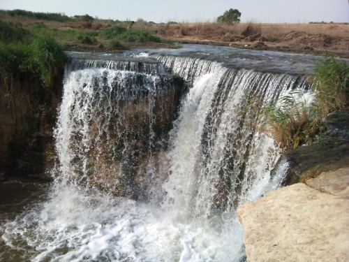 Fayoum waterfalls