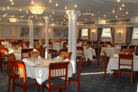 MS Nile Dolphin Cruise Main Restaurant