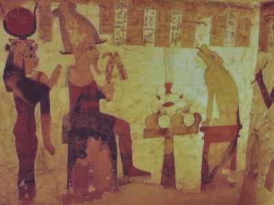 Dentro il Tempio dell'Oracolo di Siwa