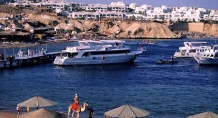 Desde el Puerto de Sharm