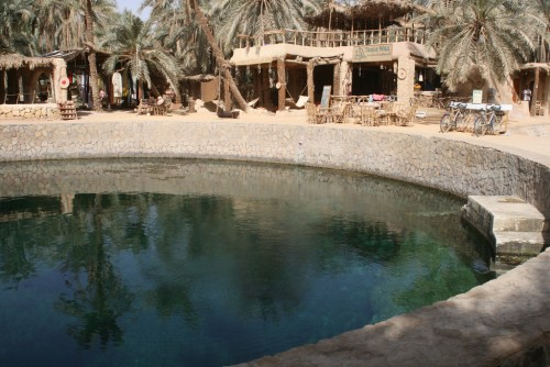 Cleopatra Bath at Siwa Oasis