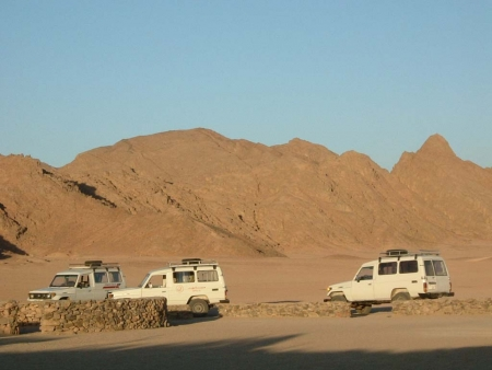 Safari en Sharm por jeep 4x4