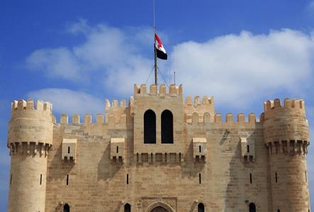 Qaitbay Zitadelle in Alexandria
