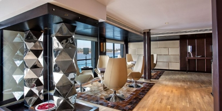 The Oberoi Philae Nile Cruise Lobby